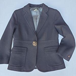 J. Crew 72894 Black Wool Blazer 4 career perfect